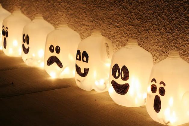 lamparas de plástico